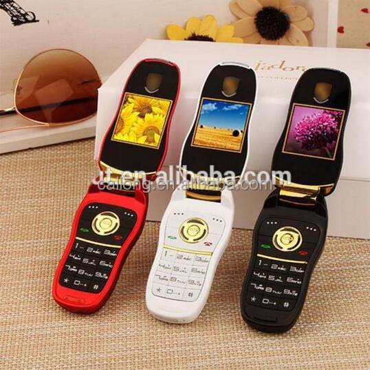 mini F368 F911 X5 X6 car key flip mobile phone