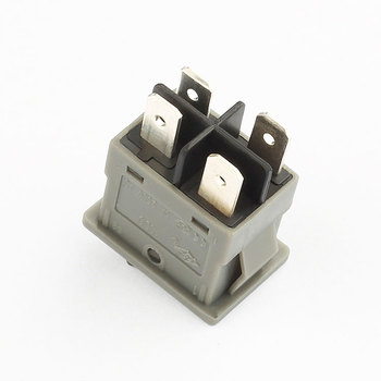 factory supply kcd6 6a 250v t55 4 pin rocker switch with red light
