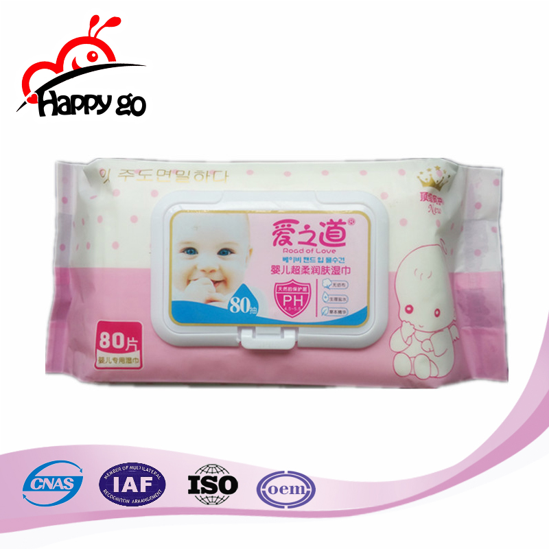 Fast Delivery Competitive Price High Quality Baby Wet Wipes Tissue Factory From China