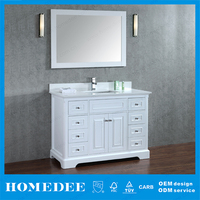 white lacquer classic bathroom vanities 48 inch