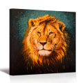 Abstract Lion Animal Oil Painting Digital Prints Hd Wall Art Canvas 1 Pieces for Living Room/SV10242