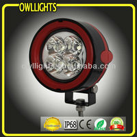 Factory price !!10~30V 12W driving light for car Jeep , 12w waterproof led work lamp for machine, LED spot light for truck