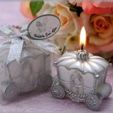 Happily Ever After Carriage Candle Baby Shower Candle Cinderella Pumpkin Carriage candle new design