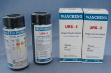 3 Parameters Urine Test Strips for Diabetics FDA, ISO, CE