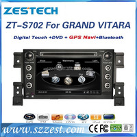 ZESTECH FACTORY Special for Suzuki Grand Vitara dvd gps with bluetooth tv ipod