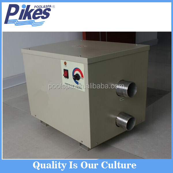 Professional swimming pool equipment electric water heater