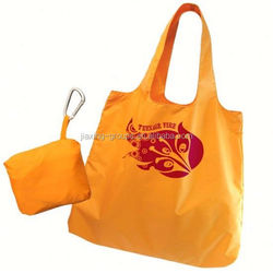 Cheap reusable shopping bag folding polyester bag,custom size,OEM orders are welcome