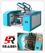 All Automatic computere controlled cling film rewinding machine/plastic film rewinder