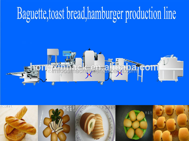 baguette toast bread hamburger production <strong>line</strong>
