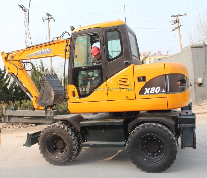 Japan used garden excavator price with imported engine