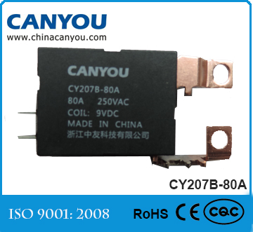 CY207-80A CAN YOU Technology little impulse Electronic energy meter protectivecheap12V relay price