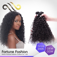 Clean And No Smell Afro Kinky Human Hair For Twist Extension