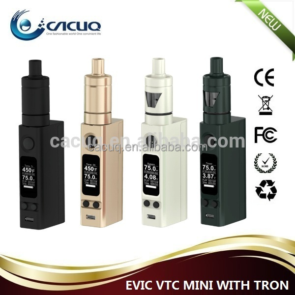 New Products Joyetech eVic VTC-MINI With Tron-S/T Atomzier Newest eVic VTC Mini V2 Kit with best price