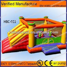 funny and cheap outdoor inflatable happy hop bouncer