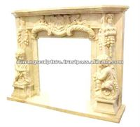 Stone fireplace DSF-LS025
