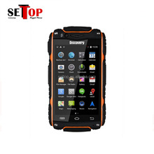 Discovery V8 Waterproof 4.0 Inch Screen 5.0MP Rugged Android 4.2 Mobile Phone