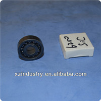 High performance SiC full ceramic bearing of full complement balls