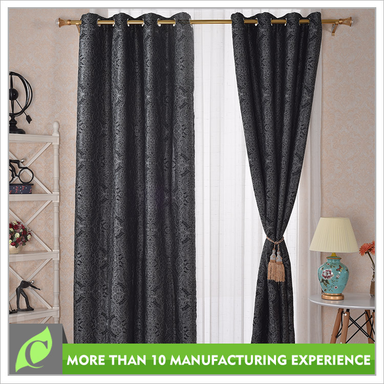 Professional manufacturer Cheap price Attractive jacquard string curtain