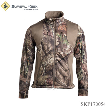 Men's Windproof Breathable Soft Shell Hunting Jacket