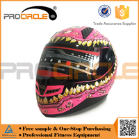 Attracted Unique Skull Predator Motorcycle Helmet