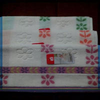 Blossom 100% cotton Bargello style hand towel