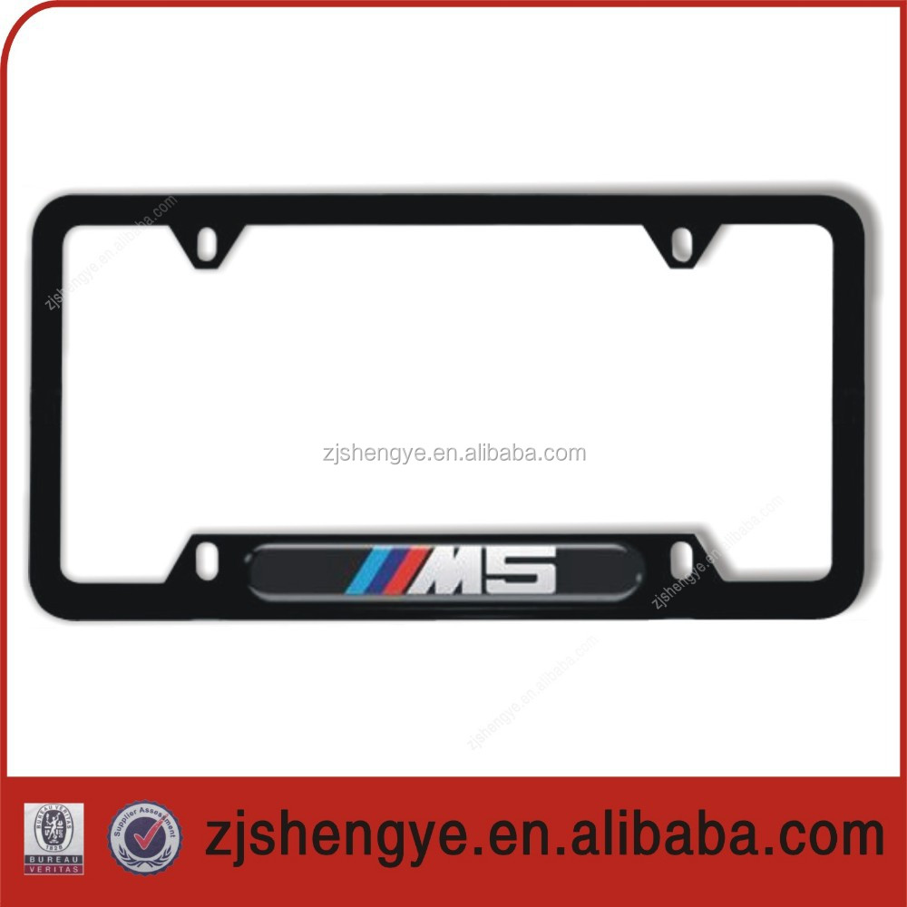 Custom Frame License Plastic Plate