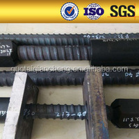 HOT! PSB500 threaded rod Steel rebar threaded rod road construction materials PSB830 Screw thread steel bar China manufacturer