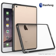 For iPad Mini 3 Simple Clear Soft TPU Ultra Thin Back Case for Apple iPad Mini3 Transparent Protect Anti-scratch Flexible Cover