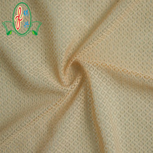 100% polyester dot flock mesh fabric