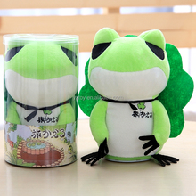 Dropshipping 2018 NEW 18CM singing talking lightning travel frog electronic toy