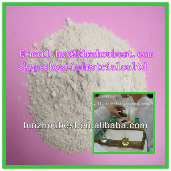 heat fuel additive/activated bleaching earth for oil decoloring