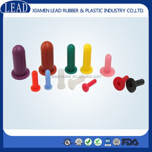 Colorful silicone rubber washer caps