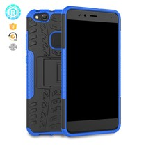 2 in 1 shockproof tpu pc hybrid hot sale for Huawei p10 lite case with kickstand