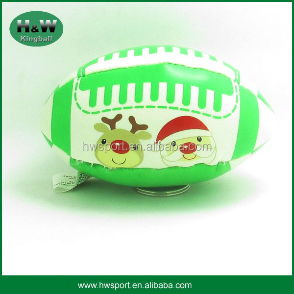 Wholesale Soft PU PVC Rugby Stuffed Juggling Ball Kick Ball