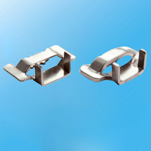 SS 201 Stainless Steel Ear Lokt Banding Buckle with Strap