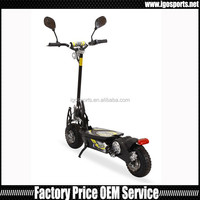 two wheels hub motor 800watts 36v electric scooter Off road tyre