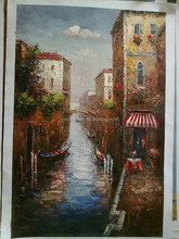 Original Design impressionist venice oil painting Gallary Art Painting China Supplier