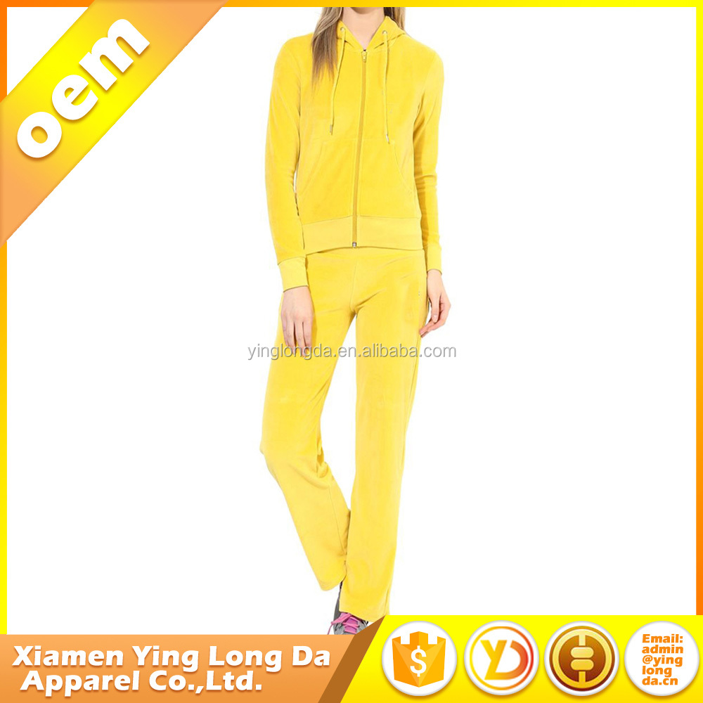new design custom made men and women nylon sport running jogging tracking suit