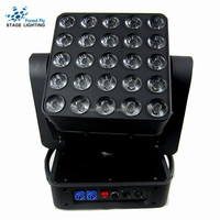 LED Moving Head Pixel Matrix Light 5*5 LED Moving Head Stage Matrix Blinder Light