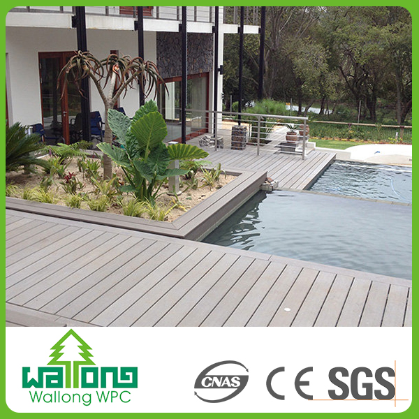 Wpc fireproof wood plastic composite decorative china wall tiles