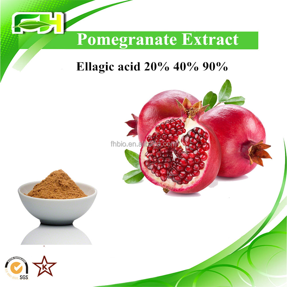 whitening plant pomegranate extract Powder. pomegranate skin extract