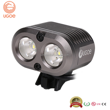 Ugoe NB04-02 bicycle accessories 2000 lumens mountain bike light led rechargeable