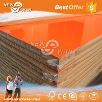 High Gloss UV MDF Sheet / Melamine UV Coated MDF Board