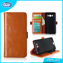 Phone accessories Newest product in China market Ultra slim leather case with card slot for Samsung S7