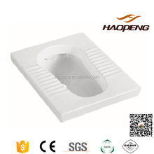 Bathroom Water Closet Ceramic Squatting Pan Cheap Squat Toilet Price