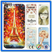 Hot sell cute design wholesale cheap cartoon silicone cell phone cover/silicone cover for iphone 5
