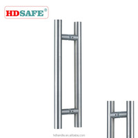 H shape customized stainless steel pull handle manufacturer in China factory