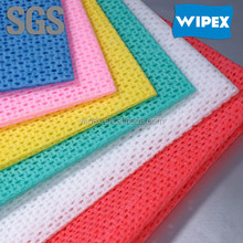 OEM multi-purpose nonwoven super absorbent Viscose & polyester cleaning wiping cloths