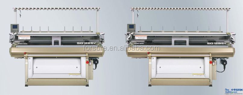 low cost and high quality computerzed flat knitting machine SSG122FC 14G