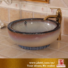 Color variable glaze ceramic basin lavatory overflow hole cover for modern house design
